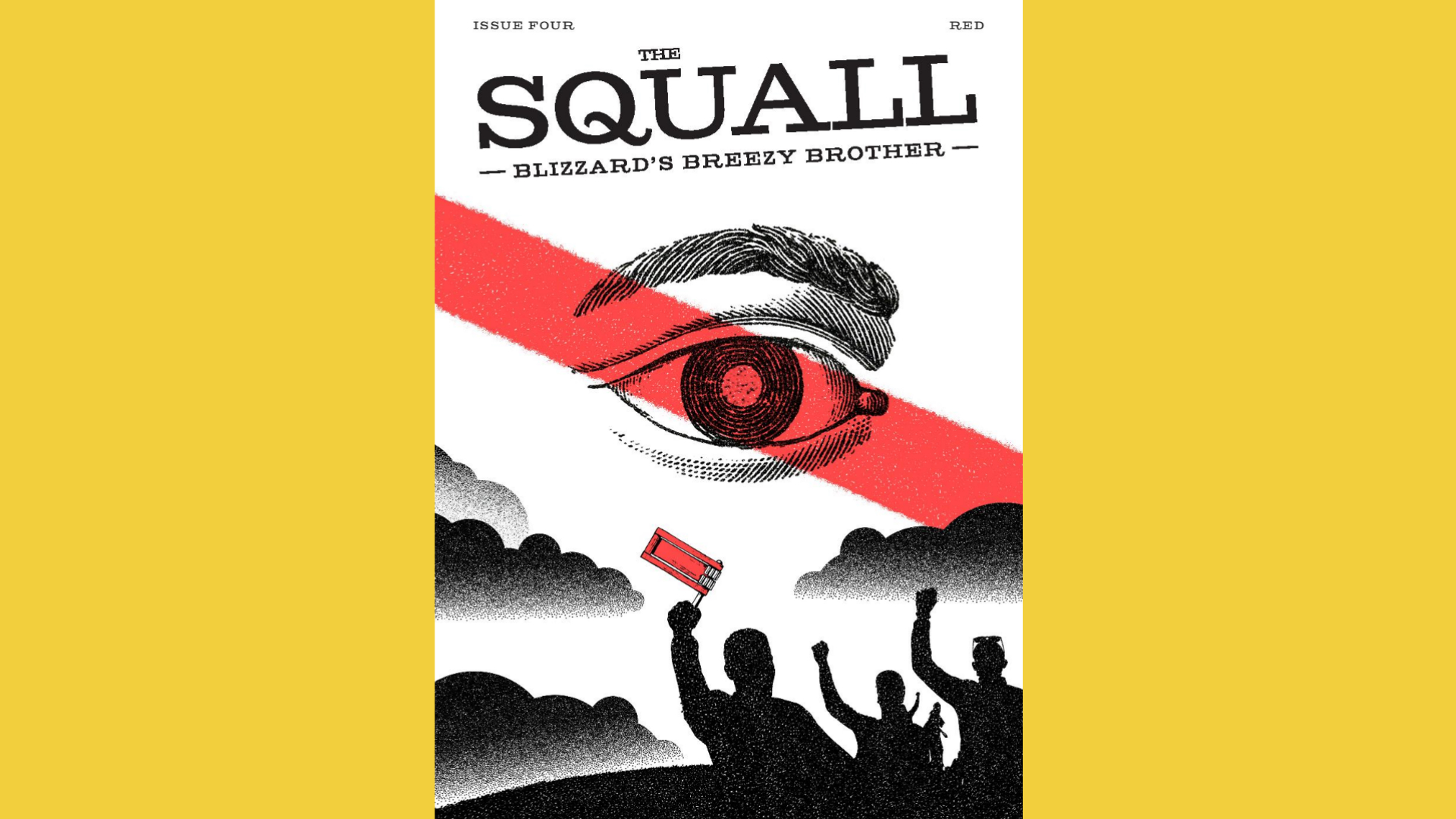 The Squall, Issue Four – Red